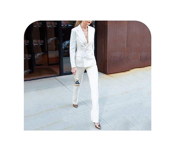 Amazon.com: Conjunto de pantalón de 2 piezas para mujer de ...