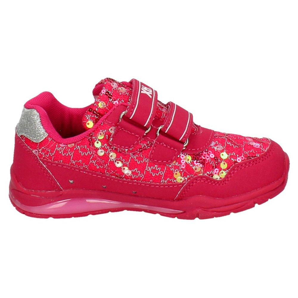 0e55a7aa XTI 55356 Zapatillas con Luces NIÑA Deportivos: Amazon.es: Zapatos y  complementos