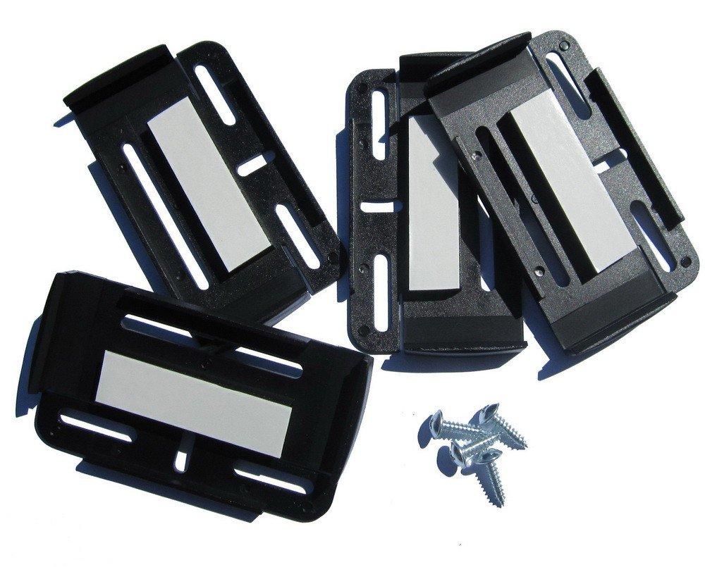Unbekannt Soportes para matr/ícula Simple Fix 2/Unidades