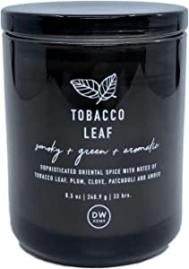 DW Home Tobacco Leaf Scented Candle