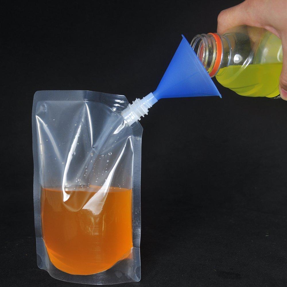 魅力の (5, 470ml) - (5, Premium Reusable Plastic Flasks For - Liquor Rum Runner Flask Cruise Kit Sneak Alcohol Drink Wine Pouch Bag Set Heavy Duty Reusable Concealable Flasks For Booze & Cocktails(4 470ml Flasks+1 funnel) (4, 470ml) 16Oz B01MTVB1F2, ムレチョウ:024a47c1 --- a0267596.xsph.ru