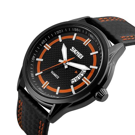 Relojes Deportivos para Hombre Reloj de Lujo de la Mejor Marca Calendario Reloj de Pulsera de