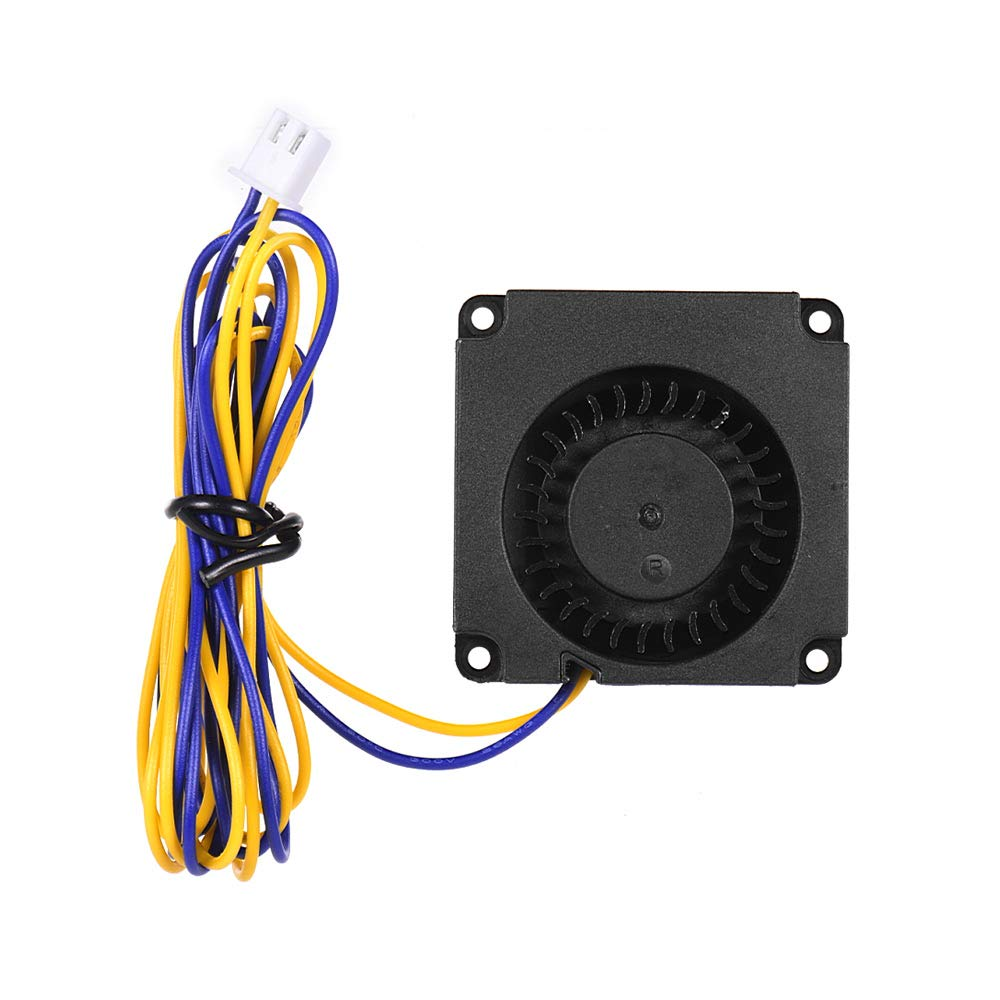 Creality 3D 4010 Brushless Fan Cooling Fan Turbo Fan 40 * 40 * 10mm 24V DC with Ball Bearing 2 Pin Connector for CR-8S Ender 3 3D Printer Hotend Extruder