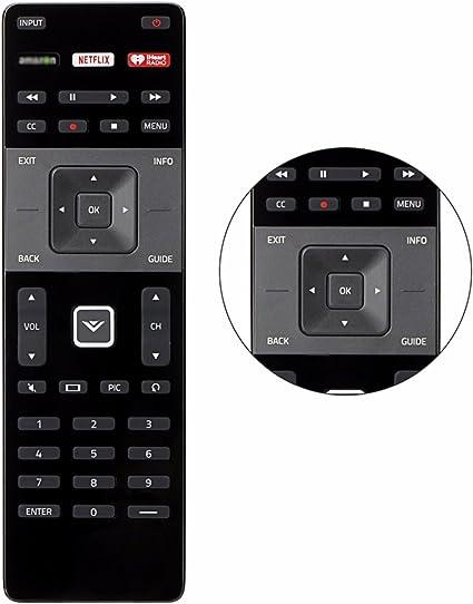 D55UD1 Factory Original Vizio D55D2 Smart LED TV Remote Control D58UD3