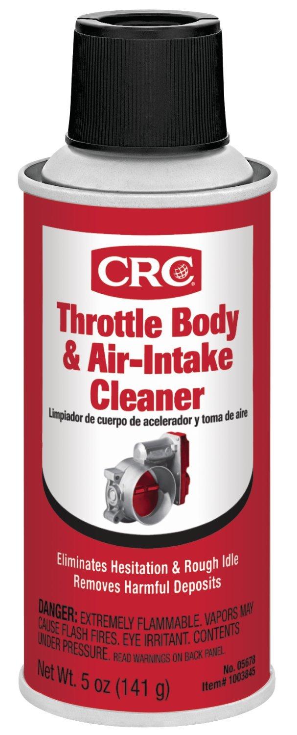 1. CRC 05678 Throttle Body & Air Intake Cleaner - 5 Wt Oz