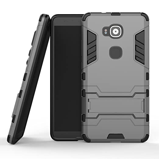 83 opinioni per Wkae® Huawei G7 Plus custodia,2 in 1 Nuova Armour stile duro Hybrid Dual Layer