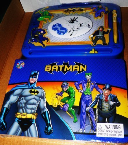 Batman 22 Page Storybook and Magnetic Drawing Kit