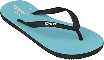 fipper Women's Slim Rubber Thongs