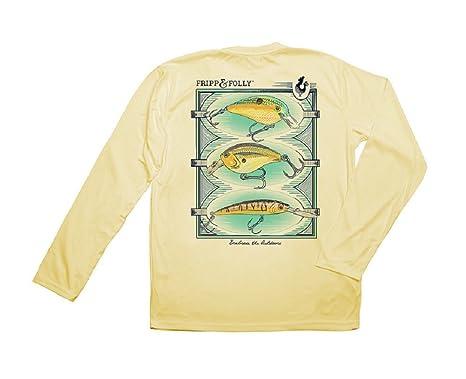 Folly3 Frippamp; YellowXx Wicking Fishing Lures ShirtPale QrBWCdxEoe