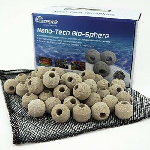 Maxspect Nano-Tech Bio-Spheres BIOLOGICAL FILTRATION MEDIA 1KG (1 KG)