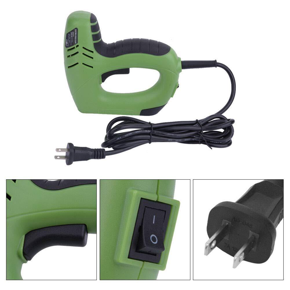 Studyset 220V 1800W Electric Staple Mashine Straight Nail 10-14mm/U Nail 6-14mm Woodworking by Studyset