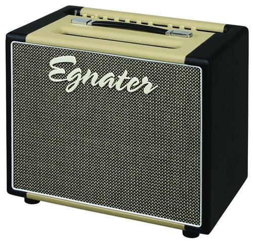 Egnater REBEL -30 112 MARK II 30-Watt Two-Channel Tube 1 x 12-Inch Combo with Tube Mix, Reverb and Silent Record, 2 x 6V6, 2 x EL84 Power Tubes, 5 x (30 Watt 2x12 Combo Amp)