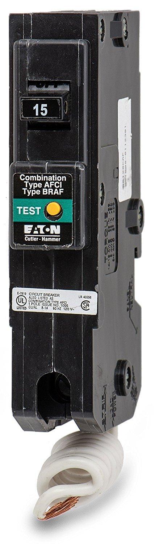 Eaton Electical / Cutler-Hamm #BR115CAF 15A SP BR1 Circular Breaker EATON ELECTRICAL/CUTLER-HAMM CUT-BR115CAF
