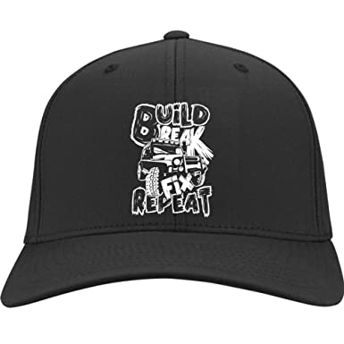 e7282a11 I Love My Car Hat, My Mudding Car Twill Cap (Twill Cap - Black) at ...