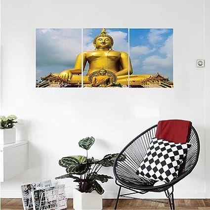 Amazon.com: Liguo88 Custom canvas Wall Hanging Asian Decor The ...