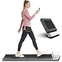Folding Treadmill, Walkingpad Ultra Slim Foldable Treadmill Smart Fold Walking Pad Portable Safety Non Holder Gym and…