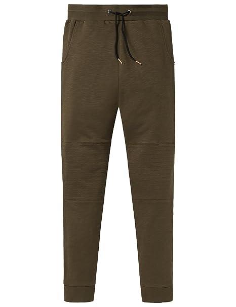 Schiesser Mix & Relax Sweatpants, Pantalones de Pijama para Niños, Verde (Oliv 707