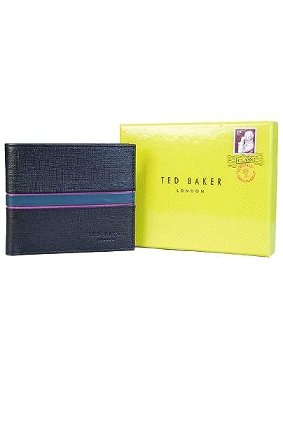 11b693ec63 Ted Baker Musta Black Leather Bi-fold Wallet One Size: Amazon.co.uk ...