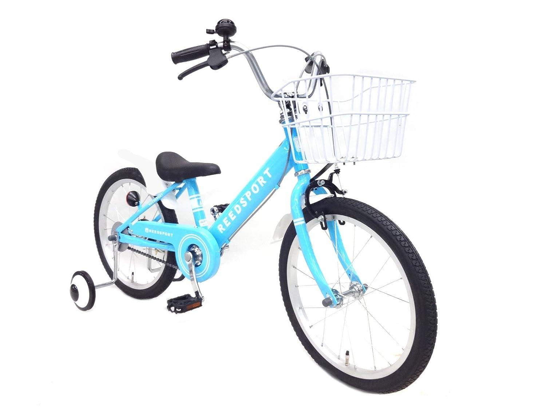 リーズポート(REEDSPORT) 補助輪付き 組み立て式 子供用自転車 幼児自転車 B01MQQB4ZC 14インチ|パステルブルー パステルブルー 14インチ