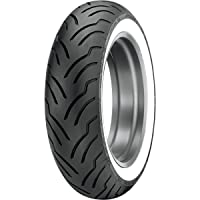 Dunlop Tires American Elite HD Touring Tire - Rear - MT90B16 - Wide Whitewall , Position: Rear, Rim Size: 16, Tire Application: Touring, Tire Size: MT90-16, Tire Type: Street, Tire Construction: Bias