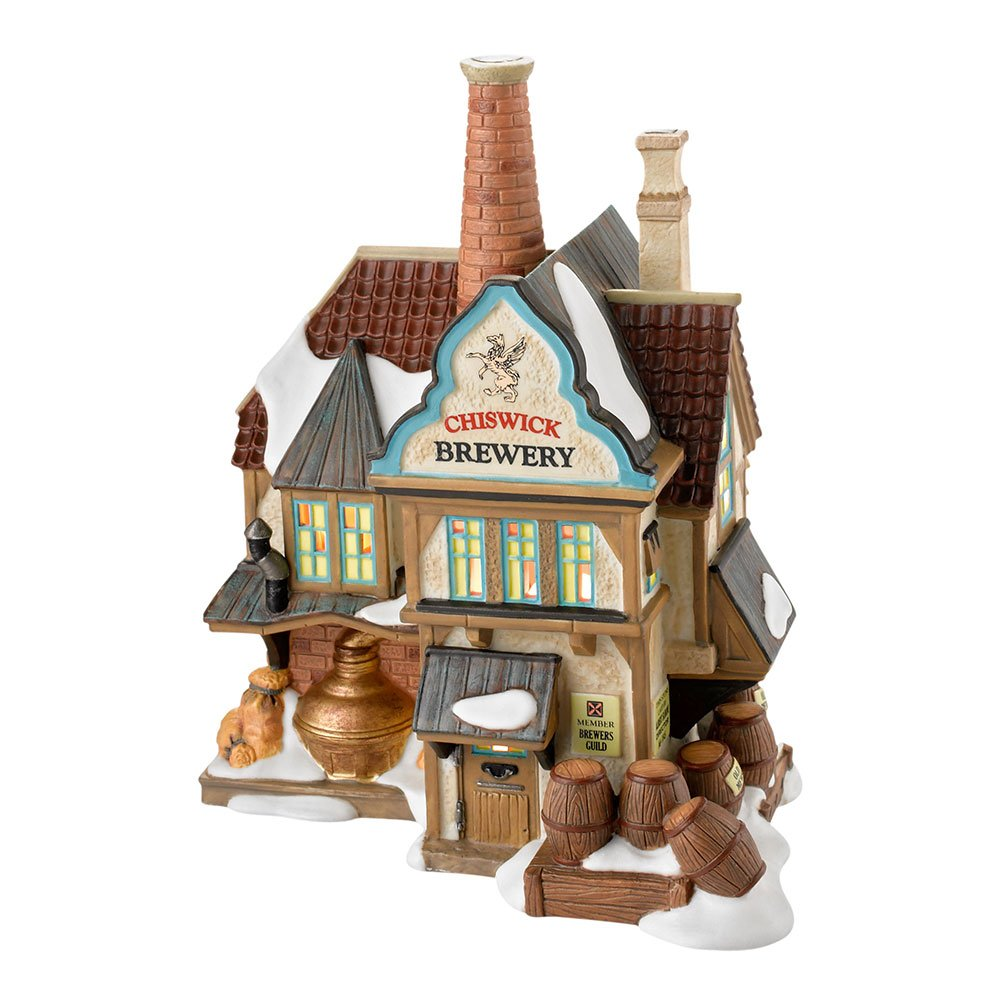 Department 56 Dickens Village Chiswick Brewery Lit House, 7.17-Inch 4025254