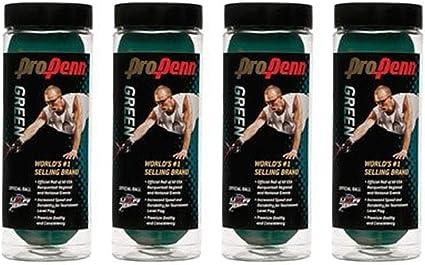 Amazon.com: Pro Penn Racquetball verde – 4 latas (12 bolas ...
