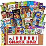 Healthy snack Care Package (52 count) A Gift crave Snack Box with a Variety of Healthy Snack Choices – Great for Office, College Military, Work,...