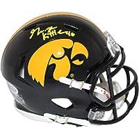 $119 » George Kittle Autographed/Signed Iowa Hawkeyes Speed Mini Helmet BAS