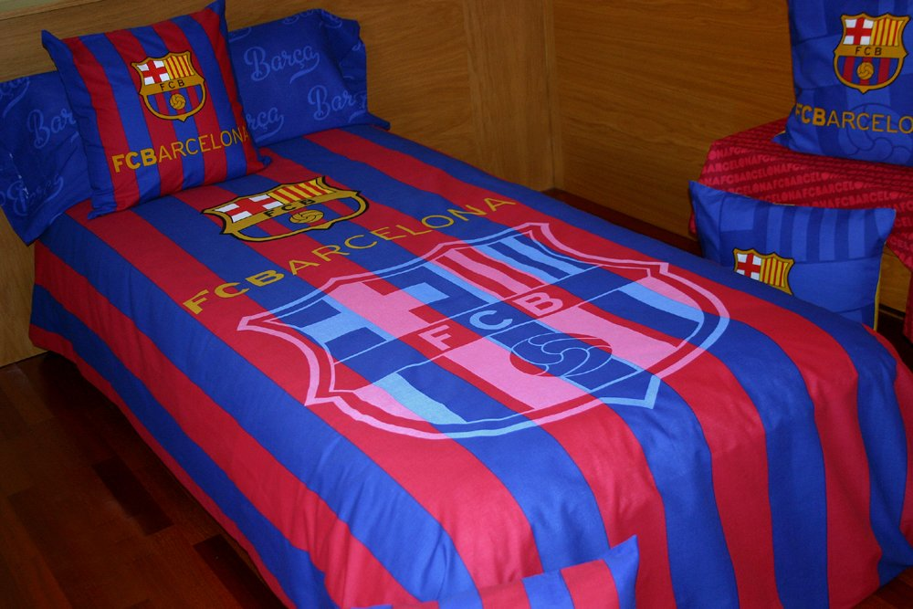 FUTS04 FC Barcelona (Barcelona football club) bed set para cama de 90x190/200 Montse Interiors
