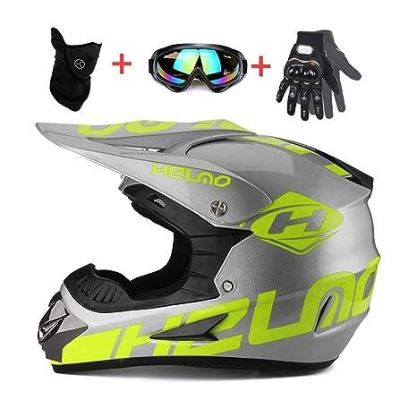 DGdolph Casco de Motocicleta Montar Equipo Todoterreno Gafas al Aire Libre M/áscara Colorido