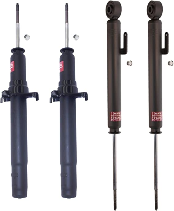 NEW Rear Suspension Struts and Bellows Kit KYB Excel-G For Acura RL 1996-2004