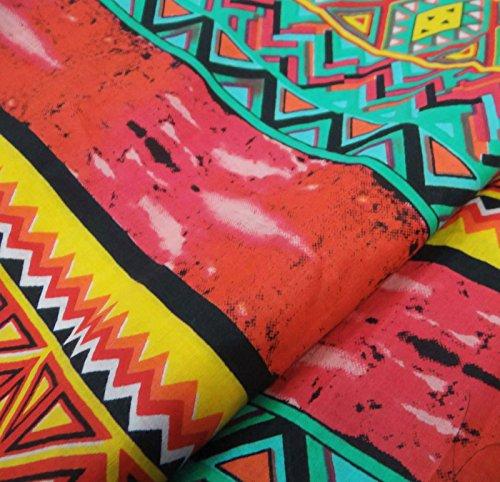 Resumen Impreso Opaco tela de algodón Tela de costura Confección Craft Por El Metro: Amazon.es: Hogar