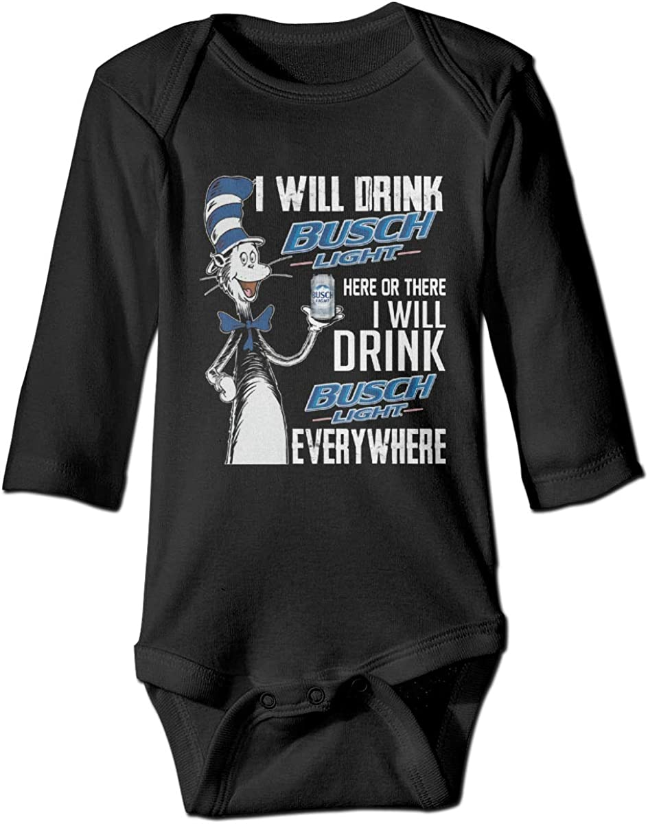 Fdivfdac I Will Drink Busch Light Here Or There Bodysuit Baby Jersey