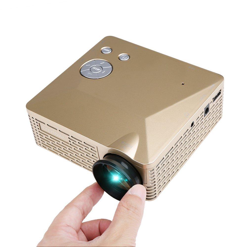 Crenova BL-18 portátil Mini LED proyector proyector (320 x 240 ...