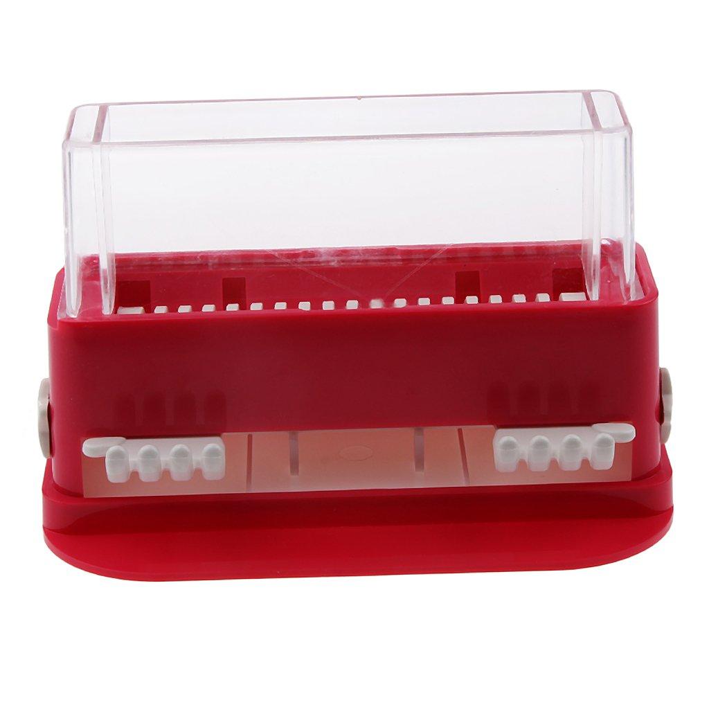 MagiDeal Eye Lash Glue Removing Swab Brush Box for Eyelashes Grafting Extension Red