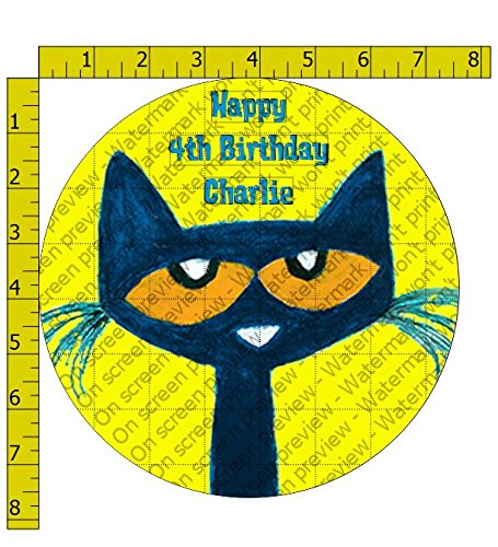 Pete the Cat Edible Frosting Image 8