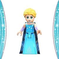 Frozen Mini Building Block Poupée Princesse Jouet Parfait Cadeau pour Les garçons et Les Filles 1PC (Elsa)