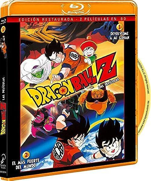Pack Dragon Ball Z. Película 1: Devolvedme A Mi Gohan. Película 2: El Más Fuerte Del Mundo. Blu-Ray Blu-ray: Amazon.es: Animación, Daisuke Nishio, Animación: Cine y Series TV