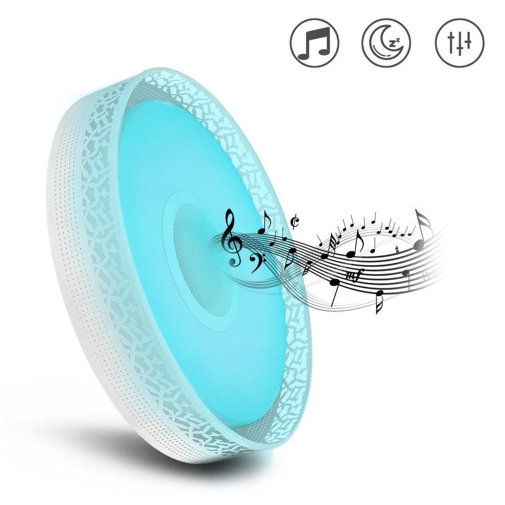 LightMe S26 Smart LED Colorful Music Ceiling Light, Bluetooth 4.0 ...