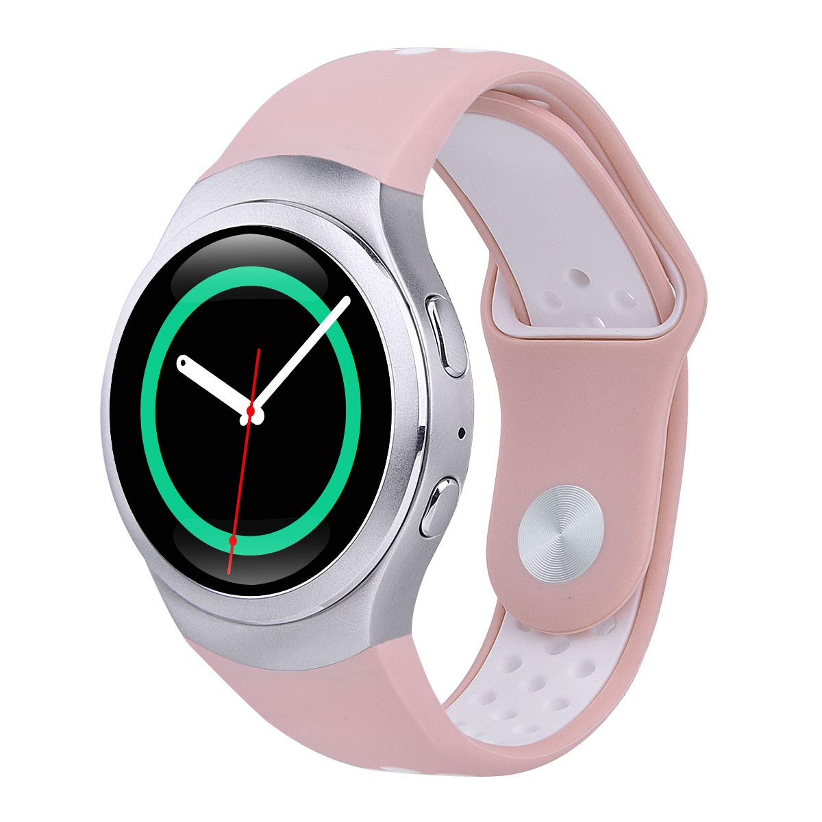 VIGOSS Compatible Gear S2 Bands (NOT fit S2 Classic), Gear S2 Soft Silicone Watch Band Fitness Wristband Sport Replacement Strap for Samsung Gear S2 ...