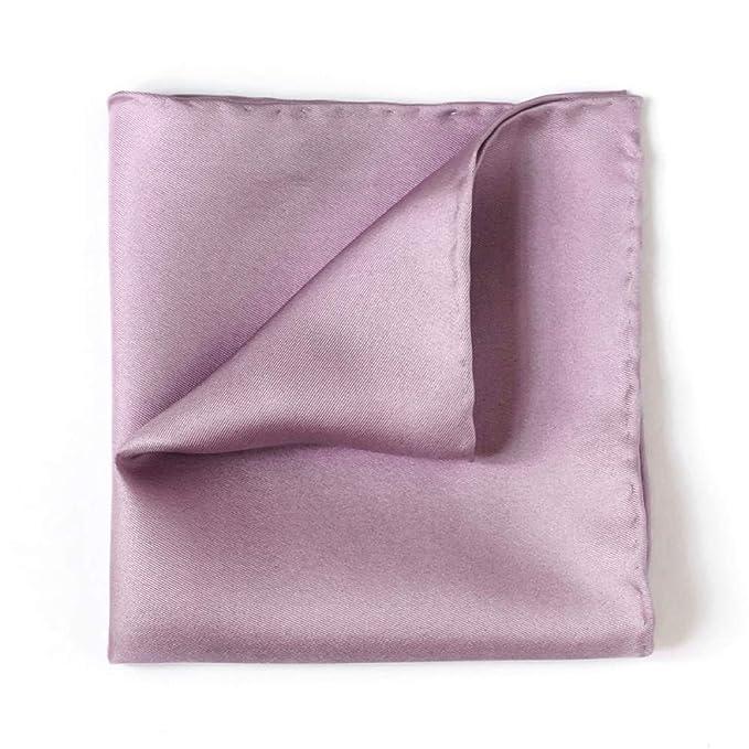 Traje de color sólido Toalla de bolsillo Traje de seda de ...