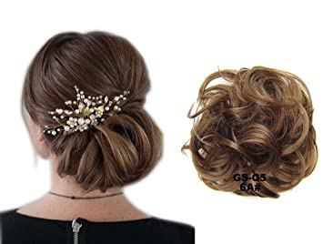 Showpower Haarteil Dutt Hochzeit Haarknoten Haar Verlangerung