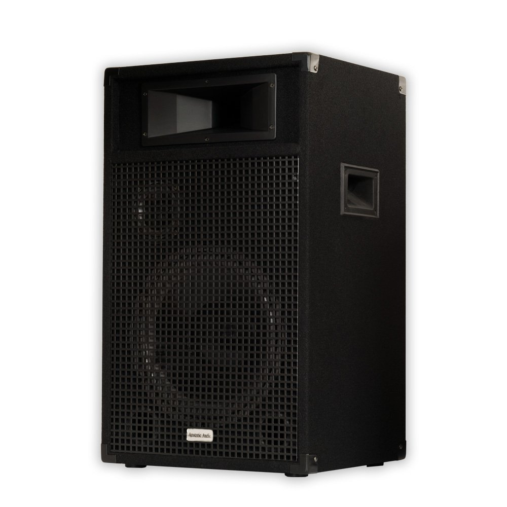Acoustic Audio BR12 Professional DJ 12 1000 Watt PA Monitor Speaker