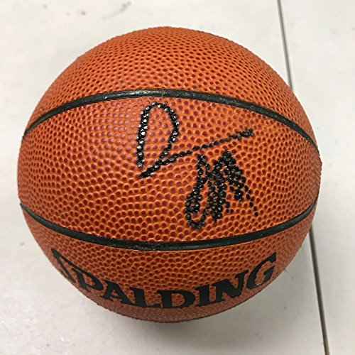 Damon Stoudamire Signed Autographed Spalding Mini NBA Basketball Score Board COA