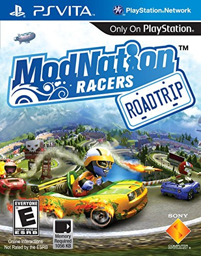 ModNation Racers: Road Trip (Ps Vita Sonic Games)