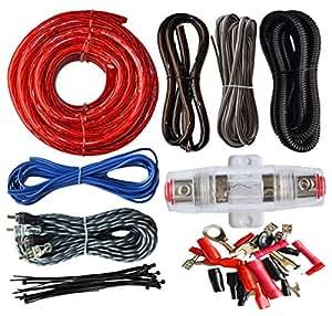 Swell Amazon Com Soundbox Connected 4 Gauge Amp Kit Amplifier Install Wiring 101 Israstreekradiomeanderfmnl