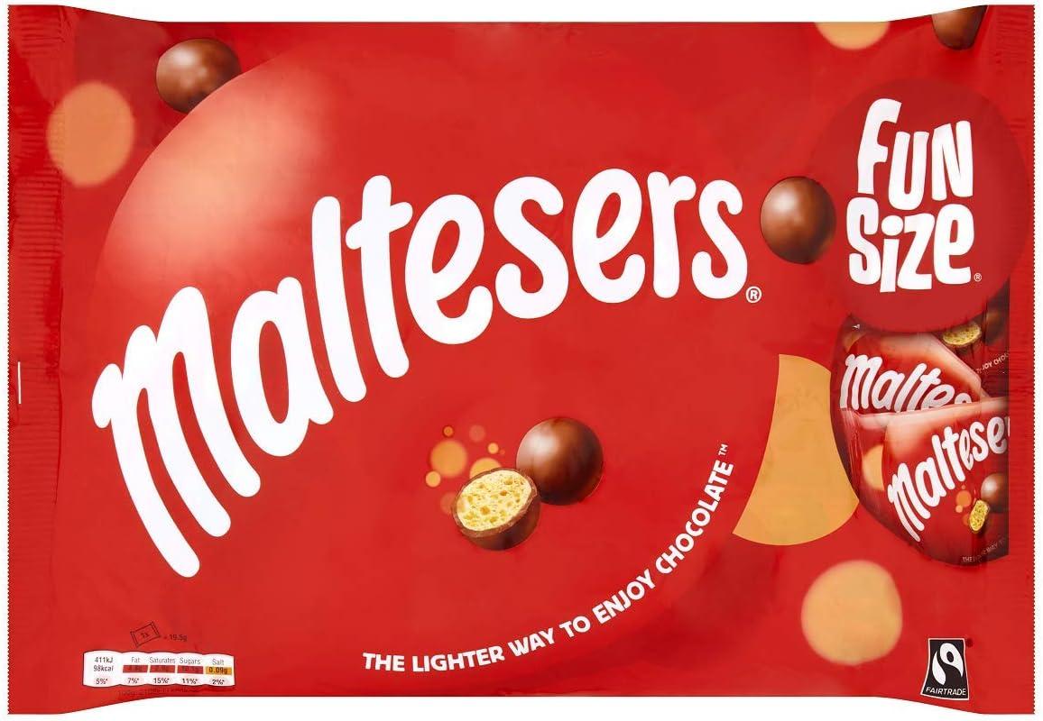 Maltesers Funsize Multipack Bag 10 x 19.5 g