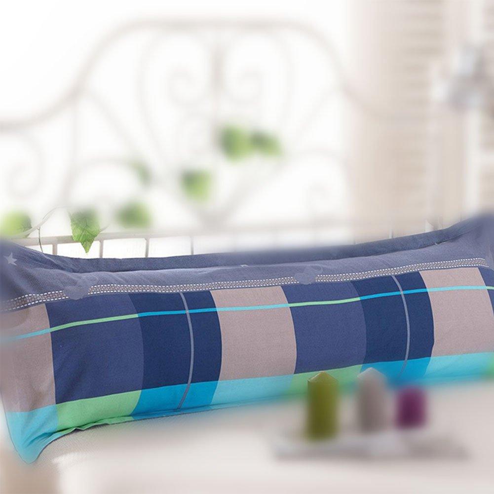 Ocamo Cotton Home Sleep Bed Print Sofa Long Body Pillow Cover Protector Pillowcase 1pcs