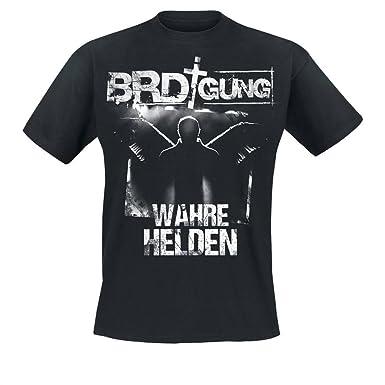 BRDigung - Wahre Helden T-Shirt, Farbe: schwarz, Größe S