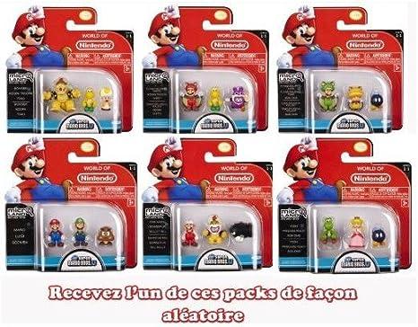 Figura Super Mario micro serie 1 NOVEDAD!!: Amazon.es: Bebé